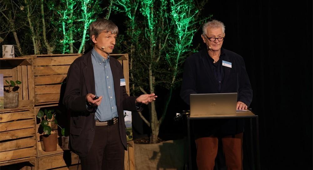 Arnold van den Burg en Robert Kwak